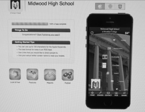 Midwood App will give students easy access to important information.