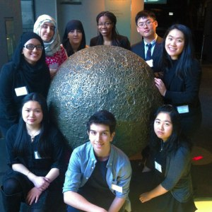 Hornet research team competed in NYSEF, a city wide science competition.