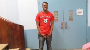 Lawrence King '15 will be attending Davidson College.