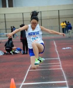 Stephanie Chan '18 was one of the Hornets who competed.