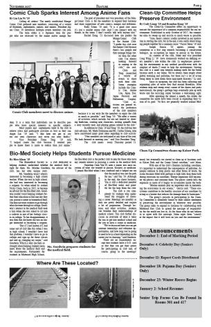 Page 9 November Issue
